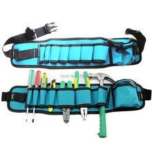 Martillos herramienta organizador Bolsas de tela bolsa de cinturón de  bolsillo cintura electricistas durable 54x13 cm bolsa Herr. 542afa3e6e67