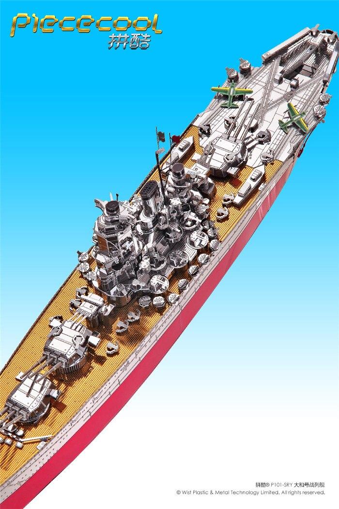 масштабная модель сборная модель линкора Yamato