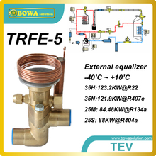 35TR mechanical expansion valves working as independent throttle device in heat pump, refrigeration and air conditioner system