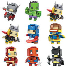 LOZ Mini Blocks Brick Toy Ant Man Captain America Thor Iron Man Figures Assemblage Block Toys Official Authorized Distributer(China)