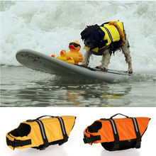 Pet Dog Security Life Jacket for Large Small Dogs Summer Saver Swimming Vest Pets Safety Clothes Pet Supplies XXS-XXL