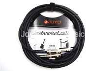 JOYO CM-06 15ft 4.5m Shielded  6.3mm Stereo To Mono Metal Plug Audio Cable Guitar Keyboard Instruments Sound Console Cable