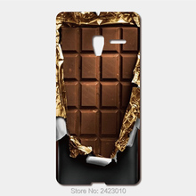 For Alcatel One Touch PIXI 3(4/4.5/5 inch) idol 2 3(4.7/5/5 inch) PoP 3 C5 C7 C9 Hard PC Cover chocolate Phone Case(China)