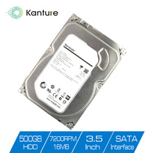Video Surveillance SATA HDD 3.5 inch 500GB Hard Disk Drive For CCTV Camera AHD DVR NVR Security System and PC Computers using(China)
