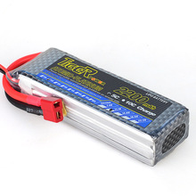 F-Cloud 3S 11.1v 2200mAh 35C T Plug Li-Po Li-on Battery for RC Quadcopter Motor Car Boat Racing Drone Battery