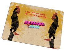 9 size Hotline Miami mouse pad mr rooster large pad to mouse computer Professional mousepad gaming mouse mats to mouse gamer