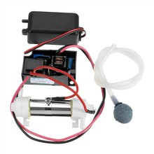 NEW 1Set 220v 500mg/hr Ozone Generator Tube DIY Water Sterilizer Ozonizer Purifiers With Ozone Generator+pipe+Air Pump+air Stone