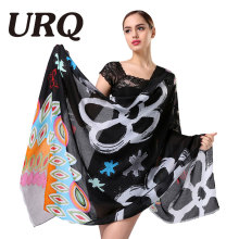 letter tassel scarf for women Autumn Winter Woman Long Cotton Scarf Scarves Foulard large shawl lady New Design Brand Luxury(China)