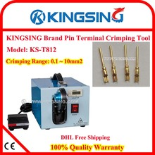 Pin Terminal Crimping Machine, Semi-auto Wire Crimper, Desktop Terminal Crimping Machine KS-T812 +100% Quality Warranty