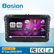"New 8 ""cheap car dvd player for VW GOLF 5 Golf 6 POLO PASSAT CC JETTA TIGUAN TOURAN EOS SHARAN SCIROCCO TRANSPORTER T5 with GPS(China)"