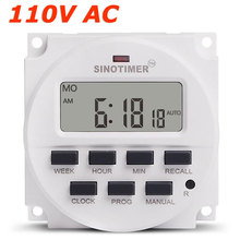 15.98 inch LCD Big DISPLAY Timer 110V 120 Volt AC 7 Days Programmable Time Switch with UL listed relay inside