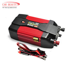 300W 300Watt 12V DC To 220V AC Power Inverter Car Power Inverter Modified Sine Wave USB Car Charger  Laptop Adapter