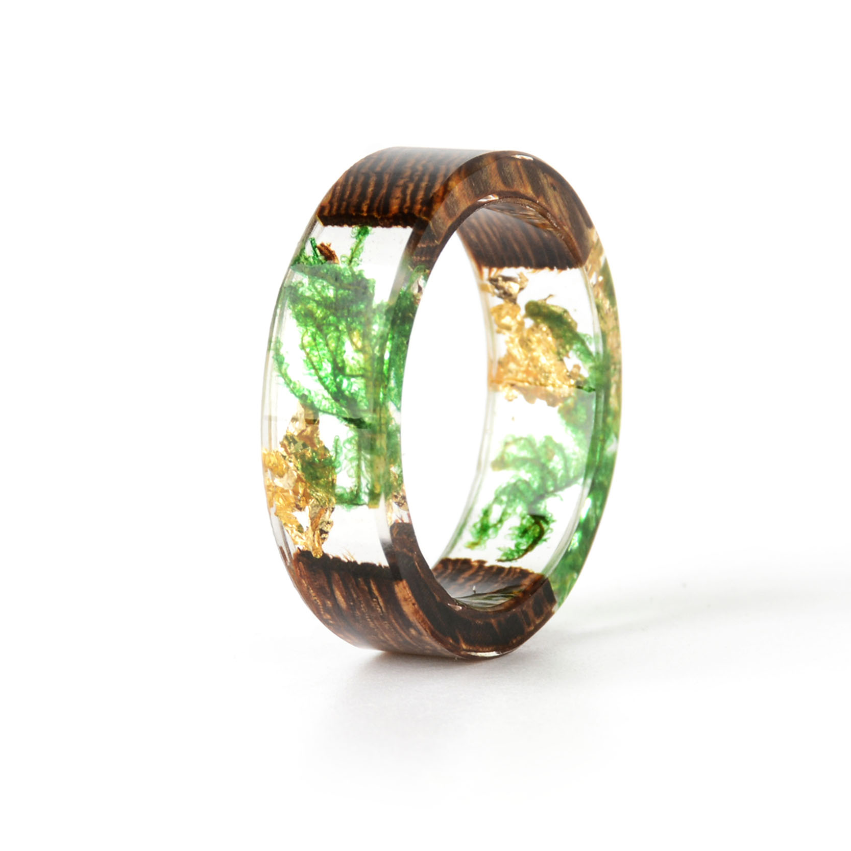 Handmade Wood Resin Ring Many Styles 28