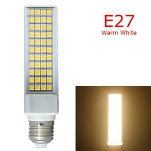 High Quality 85-265V E27 8-10W 5050 SMD 44 LED Light Lamp Bulb Cool / Warm White shops offices home Low power consumption(China)