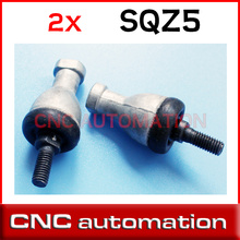 2pcs SQZ5RS Rod End Bearings Bore SQZ5 M5 5mm bearing ball joint right hand tie rod end SQZ5RS
