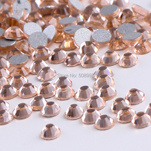 1440pc 3.8-4.0mm Top Quality SS16 Light Peach Body Nail Art Phone Case Decoration Flatback Rhinestone DIY Beads