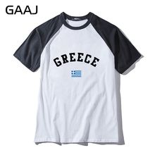 Greece Flag Man & Women Unisex T-Shirt Printed Funny Print Letter O Neck T Shirt Men Man Tops Tees Brand Clothing MaleFashion