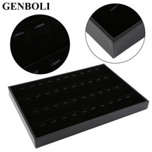 GENBOLI Pendant Display Tray Rings Display Tray Jewellery Organizer Show Case Jewelry Display Box Earrings Show Cases JYL