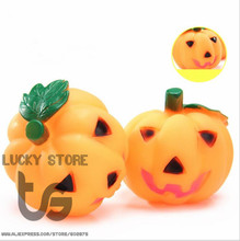 Pumpkin pet toys Halloween  Dog Toy Pet Products Chew Squeak Toys for Dog Cat Sound toy