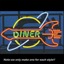 Dinner Restaurant Neon Sign Recreation Room Handcraft Neon Bulbs Real Glass Tube Store Display Beer Bar Pub Fashion Gifts 17x14