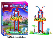 7043 337pcs City modern paradise Series Vertical limit Girl Friend Building Block Toys Compatible with toy for children(China)