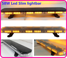 Higher star 90cm DC10-30V 58W Led car emergency lightbar,warning light bar forpolice ambulance fire truck, waterproof(China)
