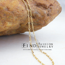 FIHZ0434 Fashion Copper THE PASSAGE 7 gold Filled necklace 48cm 2pcs/lot Freeshipping(China)