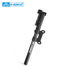 Portable Bicycle Tire Pump Aluminium Alloy Bicycle Tyre Pump Cycling Equipment Tire Air Inflator Bike Tire Pump 8bar/120psi(China)