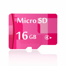 Memory Card 16 GB Class 4 Pink Micro SD 16 GB SDXC MicroSD TF Card XC Full Capacity One Year Warranty