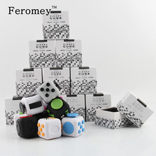 Promotion High Quality Fidget Cube Silicone Buttons 3cm Fidget Toys Stress Relief Toys