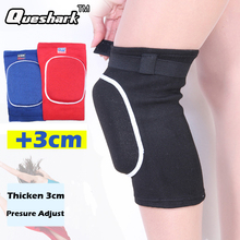 1Pcs 3cm Thicked Sponge Basketball Volleyball Dancing Knee Pads Crossfit Sports Kneepad Knee Braces Support Kneeling Protector