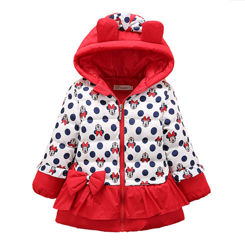 Girls Winter Cartoon Coat
