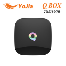 [Genuine] Q BOX 2GB/16GB Amlogic S905 Quad Core Android 5.1 TV QBOX 2.4G/5GHz Dual WiFi BT4.0 Gigabit LAN Google PlayStore