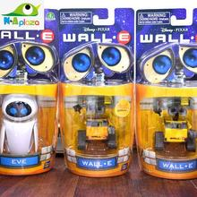 Donose Cartoon Movie Wall E Toy Walle Eve Robot Action Figure Collection Model Kids Toy 8cm