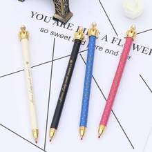 TOMTOSH Cute Crown Style Ballpoint Pens Office and School Pen for Kids Children Students and Office Ball pen
