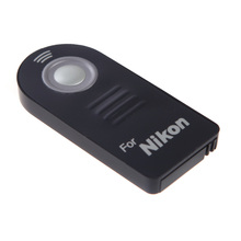 IR Wireless Infrared Shutter Remote Control for Nikon ML-L3 D7100 D7000 D90 D3300 D3200 1 V3 V2 DSLR Camera(China)