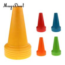 "MagiDeal 5 Pieces Safety and Security Cones Outdoor Games Plastic Traffic Cones 14.5""(China)"