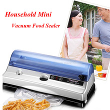 1pc Mini Household Vacuum Food Sealer in Hot Sale Stand Food Packaging for Fruit Vegetable(China)