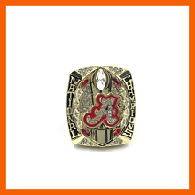 Ready Made 2016 New Arrival NCAA 2015 Alabama Crimson Tide Football National Championship Ring Replica SABAN