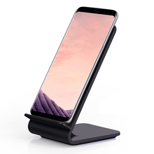 Fast Wireless Charger,Itian Quick Qi Wireless Charging Stand A8 for iPhone 8 iPhone X Samsung Note8 S8 S8+ S7 S7 edge Note 5 S6(China)