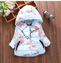 Winter Baby Girls Faux Fur Fleece Coat Party Pageant Warm Jacket Xmas Snowsuit 1-5Y Baby Outerwear Children Clothes