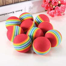 20Pcs Golf Swing Training Aids Indoor Practice Sponge Foam Balls Sport Funny
