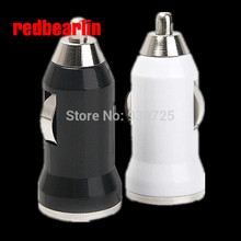 redbearlin 2000pcs Micro USB Car Charger Mini Car charger Adapter for Cell Mobile Phone iPhone 3G 3GS 4 4S 5 iPad iPod MP3 MP4