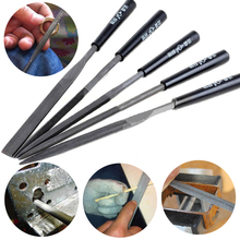 5PCS Needle File Set Jeweler Diamond Wood Carving Models Metal Glass Stone Craft Tools(China)
