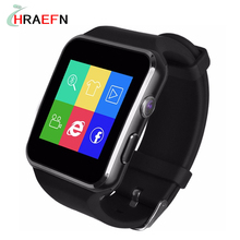 Smart Watch Bluetooth Notifier Smartwatch Wrist Watches Support Micro SIM TF SD Card Pedometer Camera for Android IOS Phone