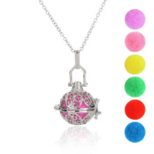 Multicolor China Style Taiji image silver multi ball can be add purfume charm for women's pendant necklace fashion jewelry(China)