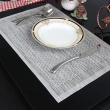 MeyJig 4 pieces/lot Placemat Coasters Heat-insulated Tableware PVC Decor Kitchen Dinning Bowl Dish Waterproof Pad Table Mat