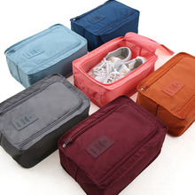 Fashion Nylon Mesh Travel Portable Tote Shoes Pouch Waterproof Storage Bag Korea Style Gifts 4 Colors