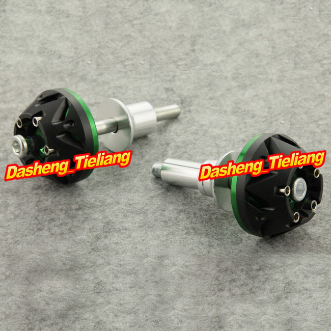 For Suzuki 2006-2010 GSR 600 400 Frame Engine Cover Sliders Crash Pads Protector, GREEN Color, China Motor Spare Parts<br>
