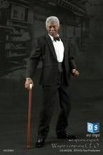 DS01 1/6 Weapons Expert Morgan Freeman Boss Wayne Company CEO Colletible 12'' Action Figure Model Toy(China)